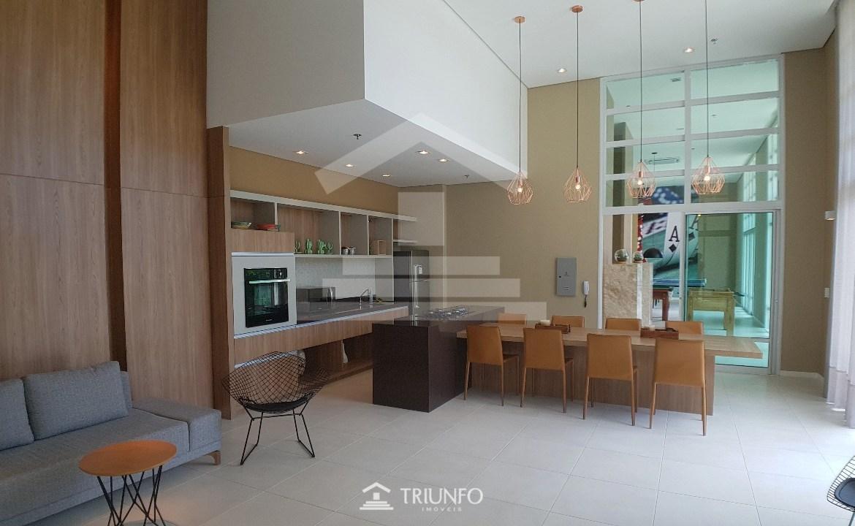 apartamento no cambeba, 103 m , 3 quartos, 4 banheiros, varanda integrada