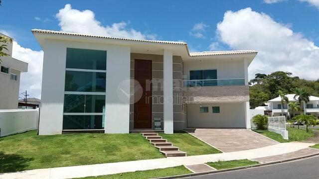 casa alto padrão - alphaville litoral norte i