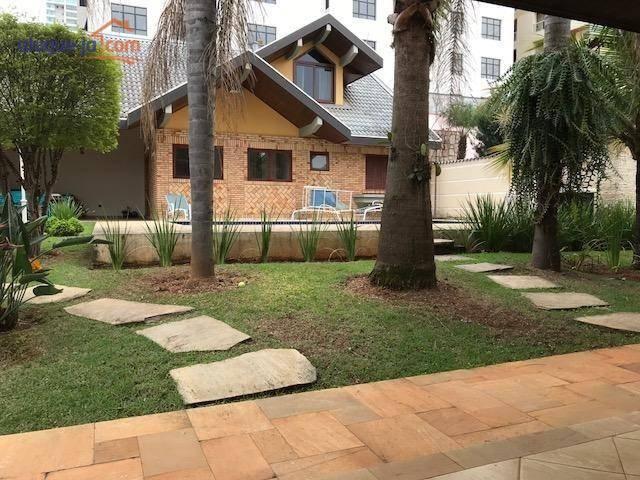 sobrado com 4 dormitórios à venda, 420 m por r 2.500.000 - jardim aquarius - são josé dos campos s