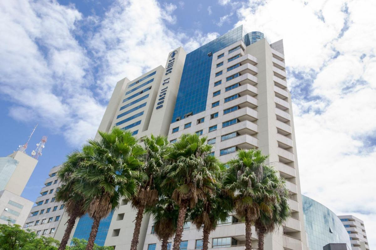 shs brasil 21 compre flat mobiliado na asa sul em hotel excepcional