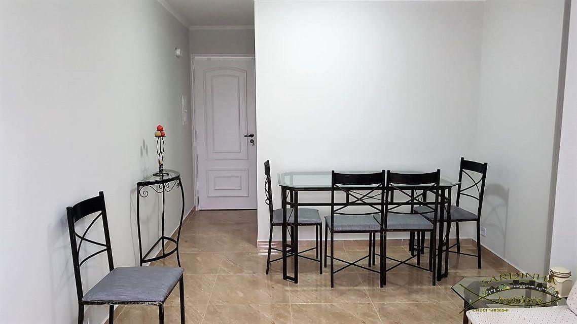 apartamento à venda 70 m - mobiliado, 3 dormitórios, 1 banheiro, cozinha, sala de estar, área de s