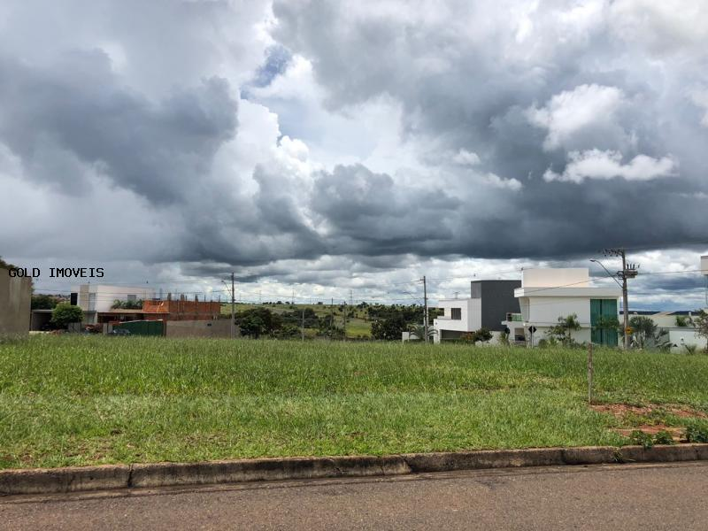 terreno em condomínio para venda - uberlândia mg, bairro cond splendido