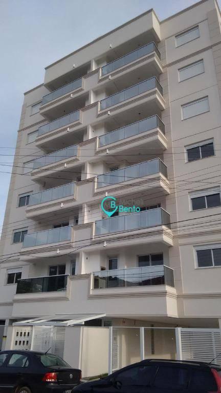 apartamento 02 dormitórios à venda, no bairro fazenda santo antônio, em são josé sc
