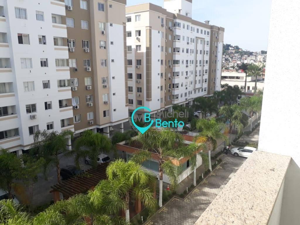 apartamento 03 dormitórios à venda, no bairro fazenda santo antônio, em são josé sc