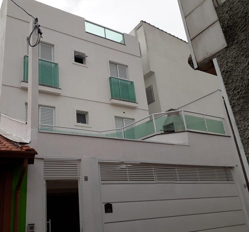 cobertura à venda, 2 quartos, 1 vaga, casa branca - santo andré sp