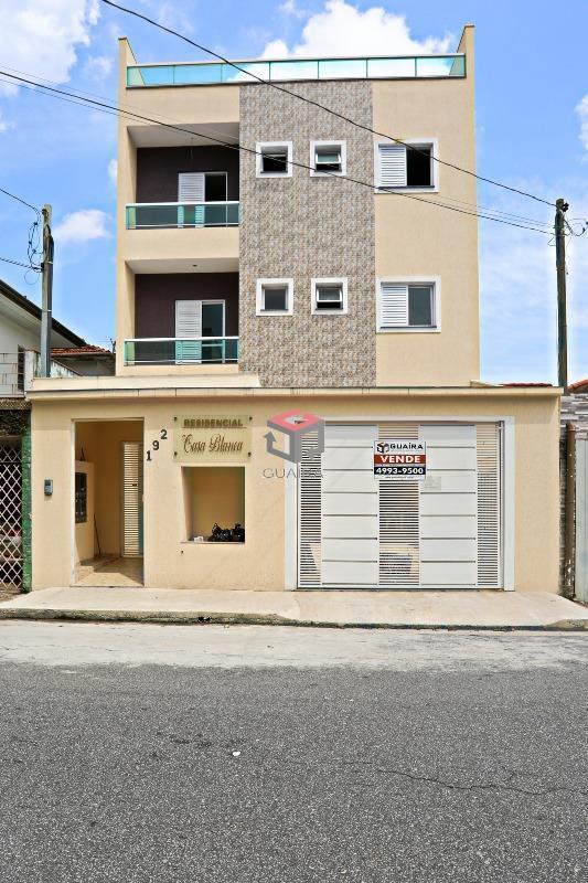 apartamento à venda, 3 quartos, 1 vaga, casa branca - santo andré sp