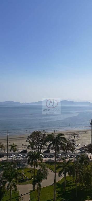 apartamento com 1 dormitório à venda, 65 m por r 295.000 - ponta da praia - santos sp