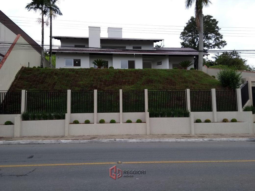 casa 2 pisos nova brasília, jaraguá do sul - sc