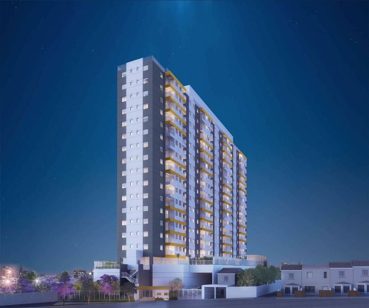 apartamento de 50 m com 2 dormitórios na região do carrão