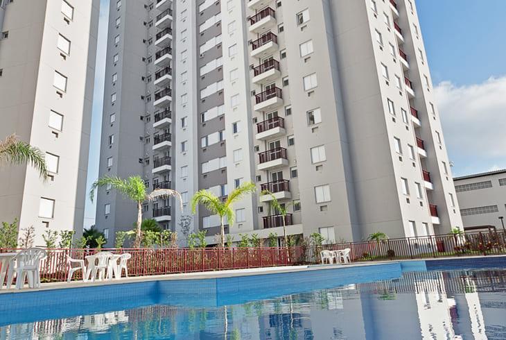 apartamentos de 2 e 3 dormitórios