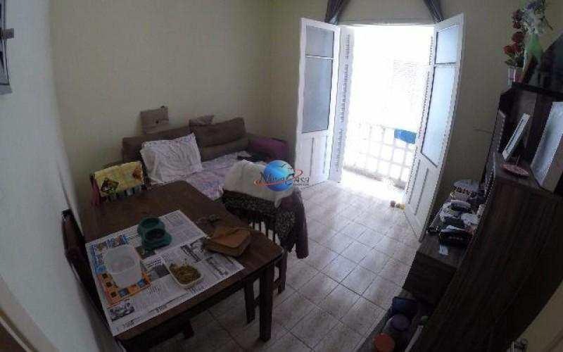 Apartamento de 1 quarto, Praia Grande