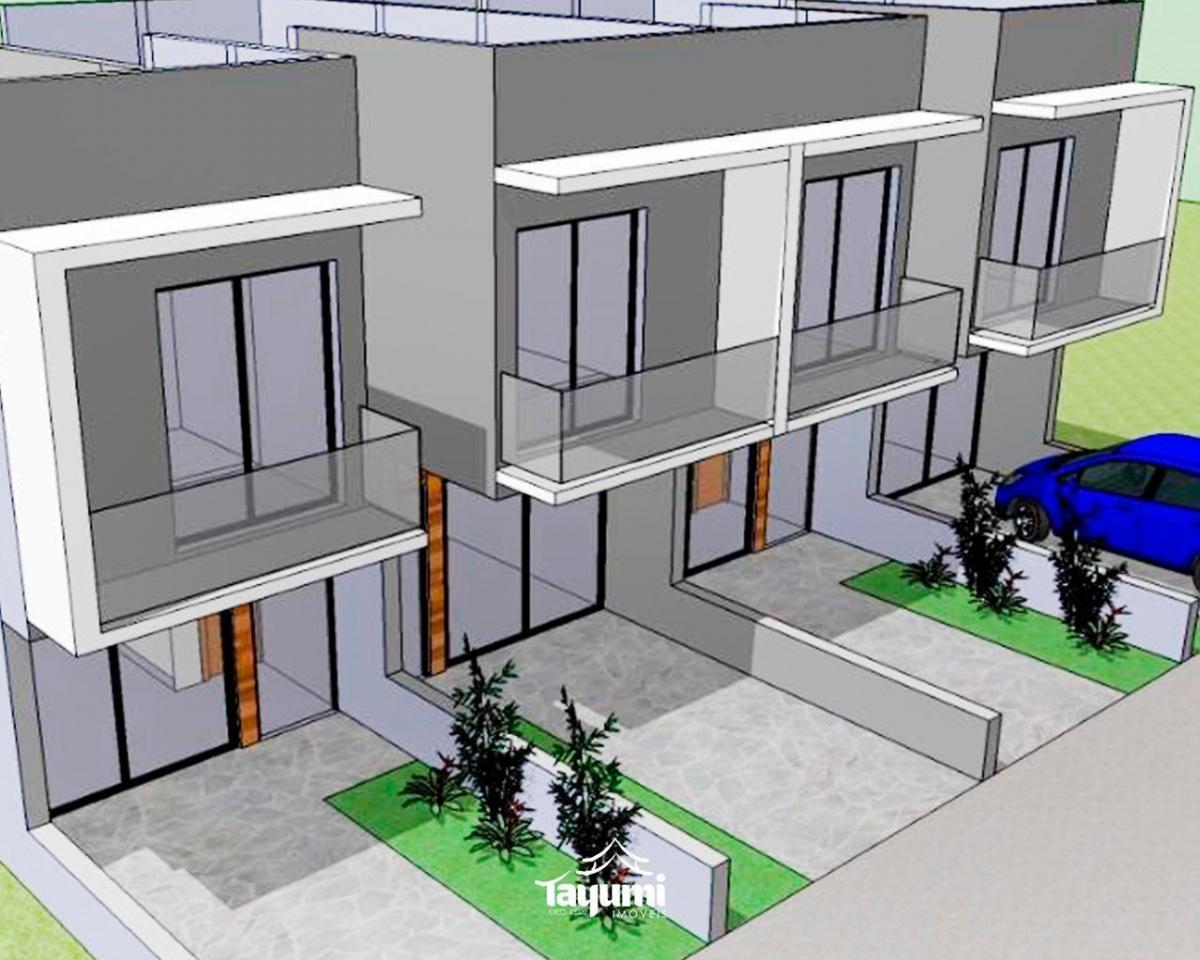 02 dormitórios, sala de estar e jantar, cozinha, área de serviço, churrasqueira e vaga de garagem. p