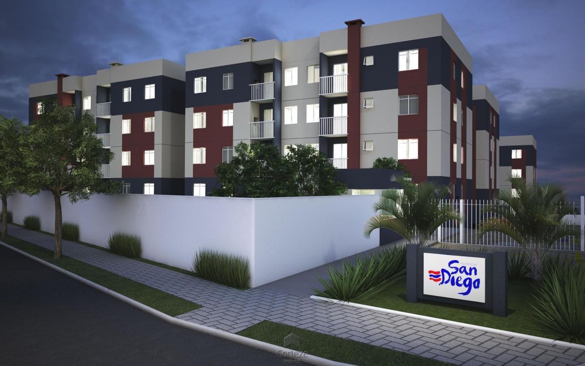 apartamento novo de 2 quartos colônia rio grande