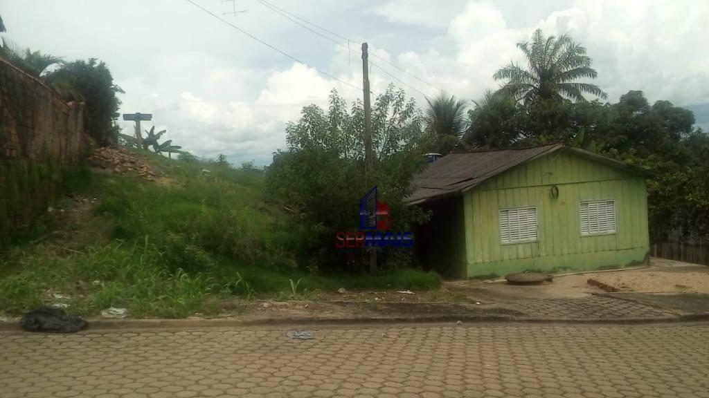 terreno à venda na rua rio solimões na cidade de ji - paraná rondônia.