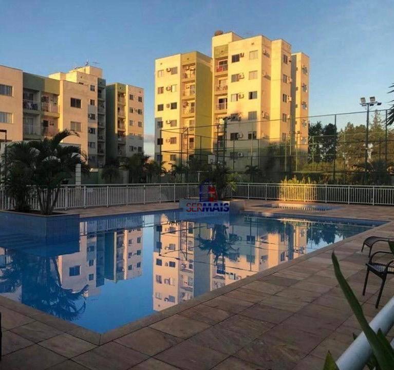apartamento com 2 dormitórios à venda, 57 m por r 170.000 - eldorado - porto velho rondônia