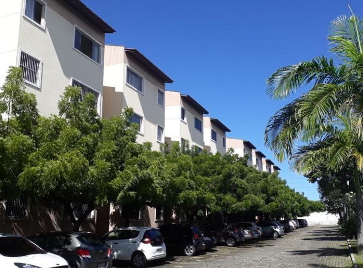 apartamento 53 m , 2 quartos, 1 banheiro, 1 vaga, área de serviço, área verde.