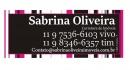 SABRINA ALVES DE OLIVEIRA